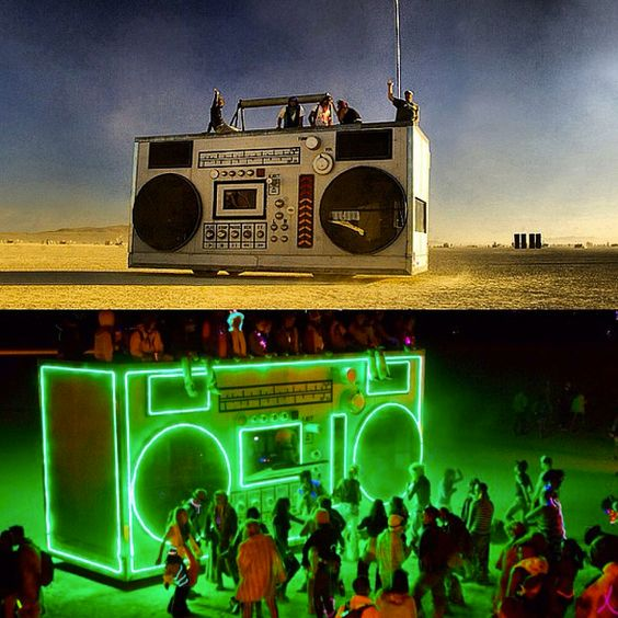 Burning Man stage This board is for all #EDMMusic fans /  Feel free to Post or Comment and Share this Pin! #ViralAnimal #EDM http://www.soundcloud.com/viralanimal