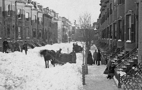 South End Of Boston Ma 1930 In Boston Outdoor Street