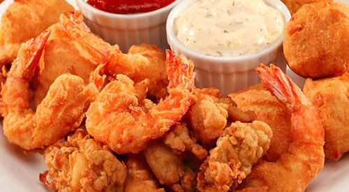 طريقة عمل الجمبري المقلي بطريقة سهلة Fried Shrimp Food Recipes