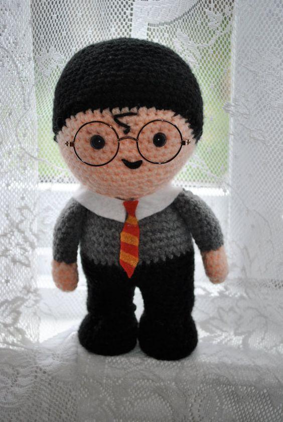 Amigurumi Harry Potter Pattern : Harry potter crochet, Harry potter and Amigurumi on Pinterest