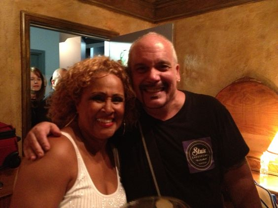 I brought a cake to one of my idols, Darlene Love.  She loved the cake, I love her!