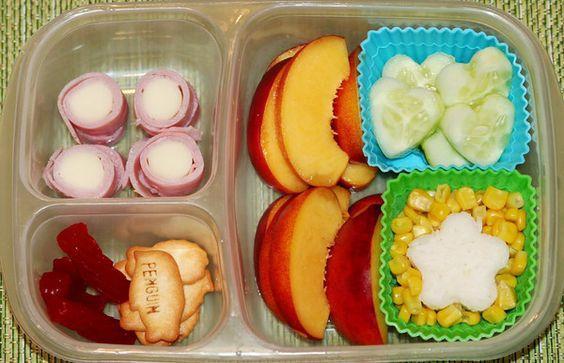 Great school lunch ideas.: