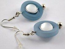Wechsel-Ohrringe mit Luna- und Polaris Perlen