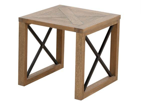Elgin Solid Oak Lamp Table | Lamp Tables from FADS  #FADSWinterWarmer   #Winter