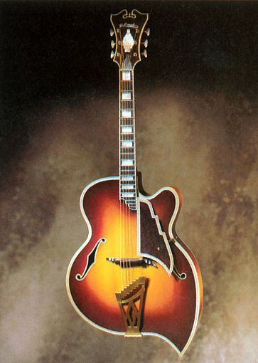 1957 D'Angelico Teardrop