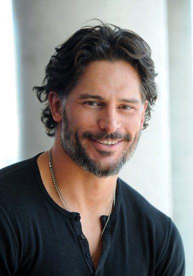 His smile...oh it gives me butterflies. Joe Manganiello