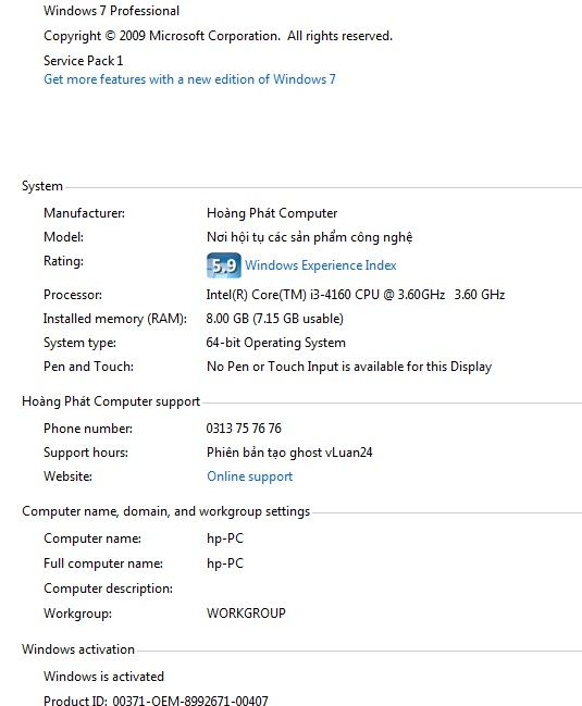Activate Windows 7 Professional Without Product Key 2020 Batch File Windows Microsoft Corporation