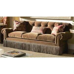 Upholstered sofa oscar de la renta and home on pinterest for Affordable furniture franklin la