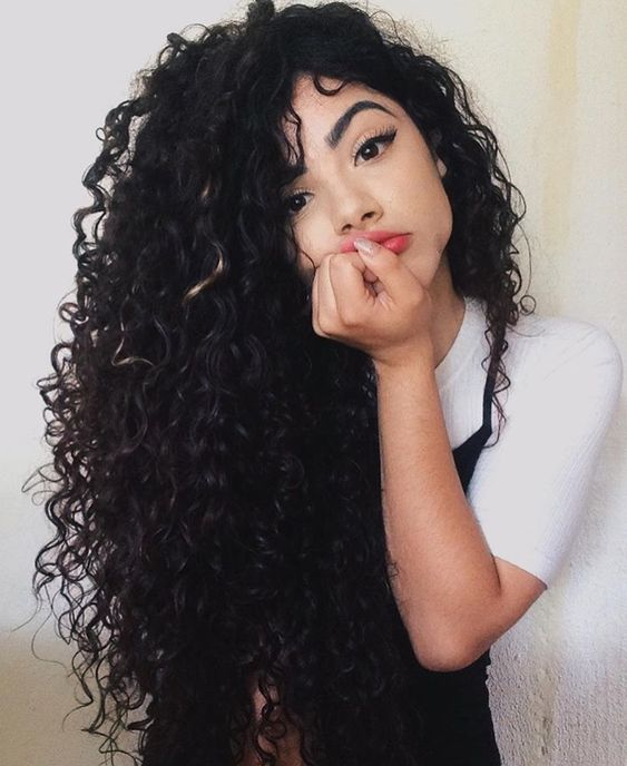 Check out these tips for how to care for curls.