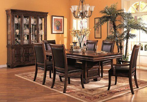 Coaster Company Westminster 7 Piece Double Pedestal Dining