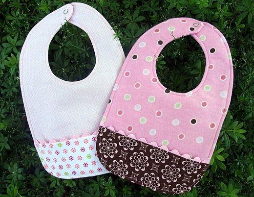 bibs: Bib Pattern, Pocket Bib, Sewing Idea, Baby Gift, Shower Gift, Baby Shower