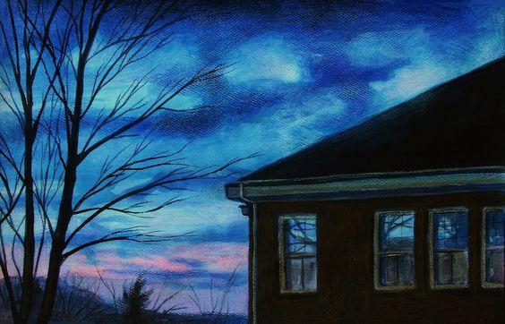 """""""Nightscape #5"""" by Lauren W. Scotto"""
