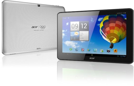 Acer Iconia Tab A510 with Tegra 3, Android 4.0 arriving in the US and Canada. This is a quad-core slate with 1GB of RAM, a 10.1-inch (1280 x 800) display, 5-megapixel auto-focusing rear camera and a single-megapixel shooter up front, with12 hours of video playback.