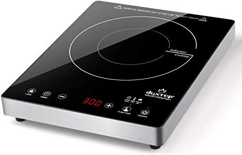 New Duxtop Portable Induction Cooktop High End Full Glass