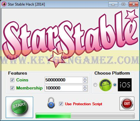 star stable hacks and cheats and keygen