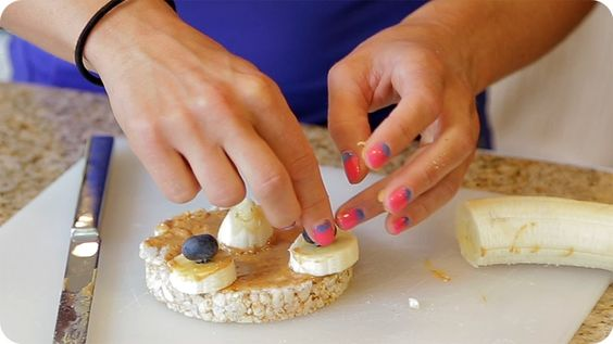 Rice cake snacks, Rice cakes and Nut butter on Pinterest