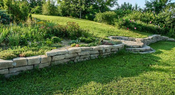 Gartengestaltung Hanglage - wie wird's gemacht - wohnnet.at