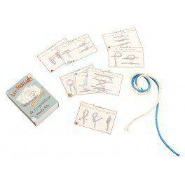 #Kit pour apprendre à faire des nœuds. Idéal pour les explorateurs en herbe #lesnoeudskit #noeuds #apprentissage,éducatif #jeuéducatif