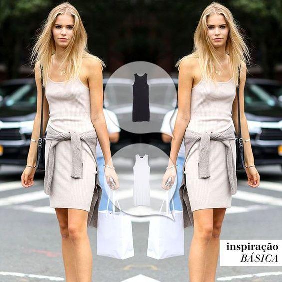 Inspitação de look para nosso Vestido Básico Cozumel! Shop online:www.mybasic.com.br  #vestidocozumel #mybasic # summer #instafashion #fashion