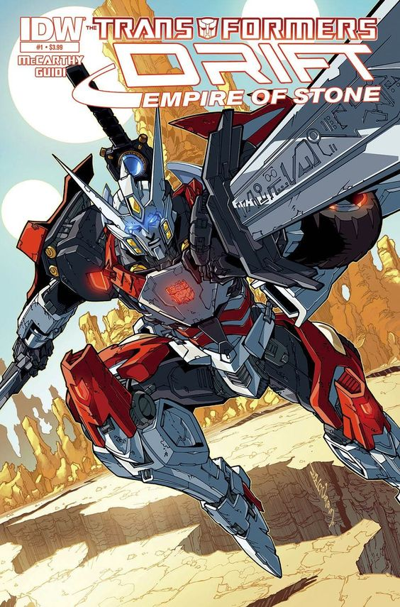 IDW Cover of the Day: Transformers: Drift: Empire of Stone #1