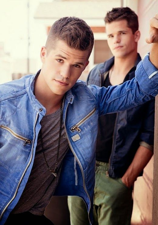 . Charlie Carver and Max Carver From 'Teen Wolf'