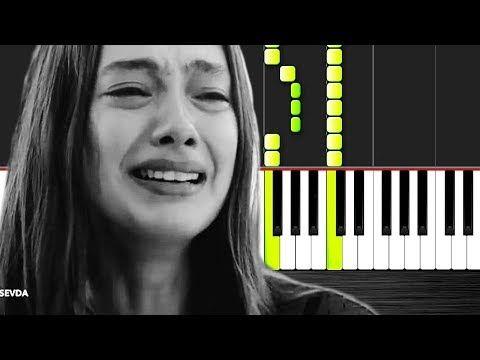 Seni Severdim Piano Tutorial By Vn Youtube Piano Tutorial Piano Tutorial