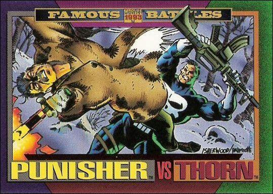 One Single Base Card #153 X-Men. 1991 Marvel Universe II