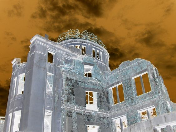 Hiroshima, Japan - A-bomb Dome (photo taken 10/29/2004)