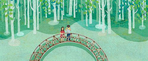 forest illustration