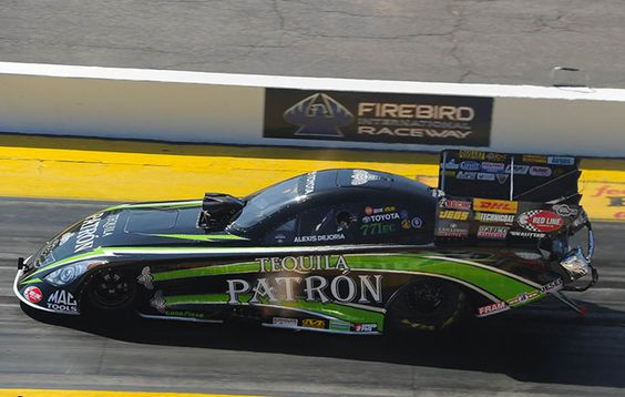 Tequila Patron Funny Car