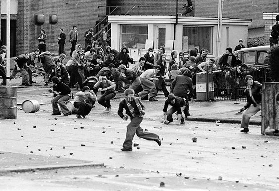 photos of belfast riots | AQA Conflict poetry: a poem a day for year 11