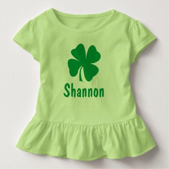 shamrock custom lucky shirt st patricks day outfit toddler baby St patricks shirt girls personalized green cute monogram