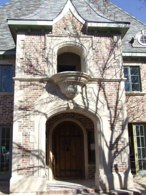Beautiful cast stone surround by american masonry supply for American brick and stone