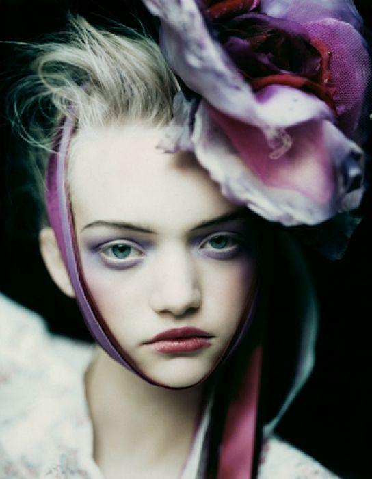 Fotografía de moda -Paolo Roversi     Orquídeas