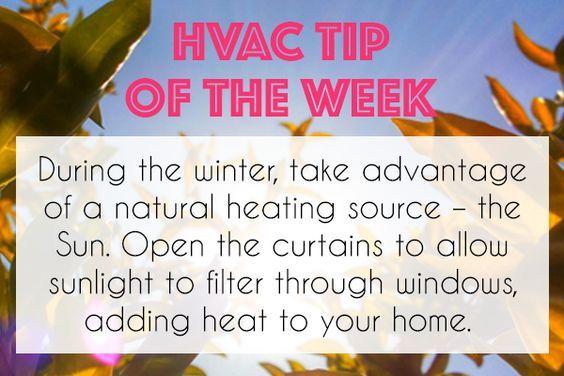 Hvac Tip Of The Week Hvac Tipoftheweek Hvactips Winter