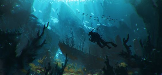 Bram Sels‎ - Underwater exploration
