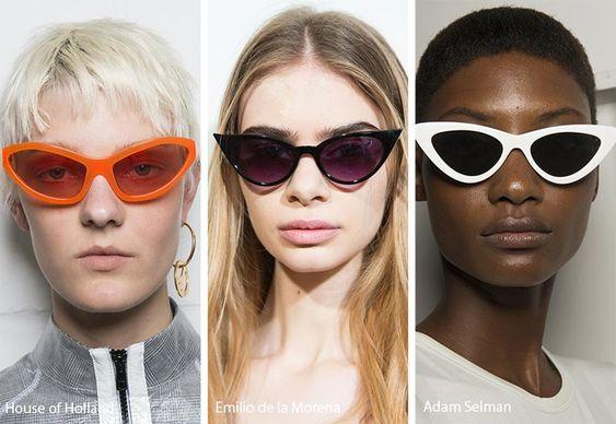 Spring Summer 2018 Sunglasses Trends Kadin Gunes Gozlukleri Moda