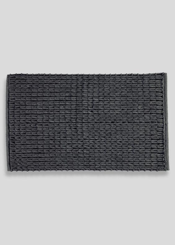 Sparkle Cable Knit Bath Mat (78cm x 46cm) - Matalan   Shopping for ...