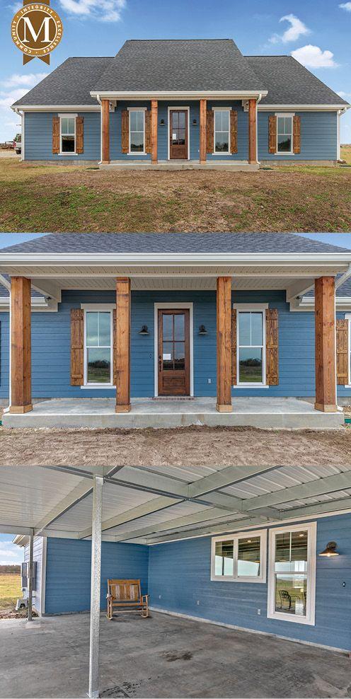 David Bayou Floor Plan South Louisiana Home Builder New House Plans Dream House Plans House Plans