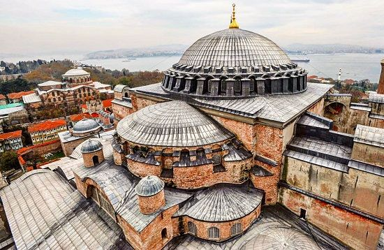 Rooftops - The Glorious Hagia Sophia of Istanbul