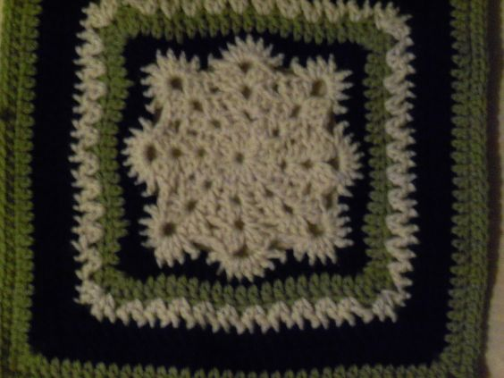 Wild Thyme Creations: 2013 Crochet Block of the Month- January Squares