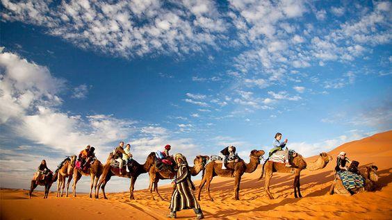 Erg Chebbi, Morocco