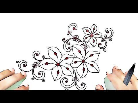 Rumal Design Art Flower Drawing Designs Sketch Design Youtube In 2021 Flower Drawing Flower Drawing Design Design Sketch