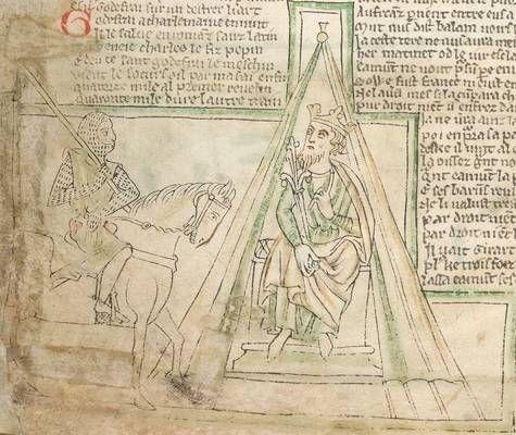 1240-1250 Chanson d'Aspremont (a version of the Legend of Roland)