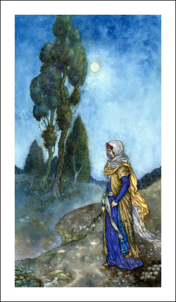 Rubaiyat of Omar Khayyam illustrated by Niroot Puttapipat