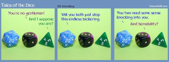 Tales of the Dice 95: Knocking » Tales of a GM