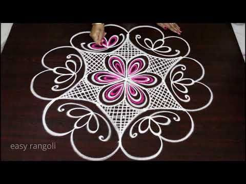 Rangoli Is Traditional Indian Art Form Rangoli Is Originated From Two Words Rang Which Means Colors And Simple Rangoli Kolam Designs Beautiful Rangoli Designs