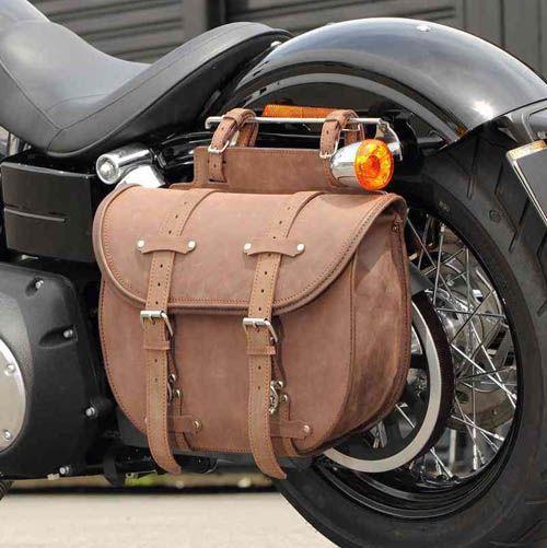 Cycle World Sb 36 Leather Saddlebag Leather Saddlebag American