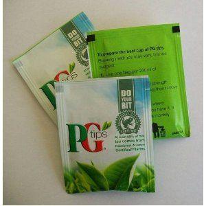 50 x PG Individual EnvelopedTea bags £5.00