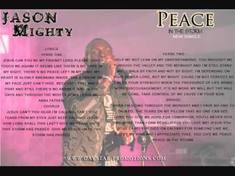 PEACE IN THE STORM - JASON MIGHTY (NEW SINGLE) (+afspeellijst) | I ...